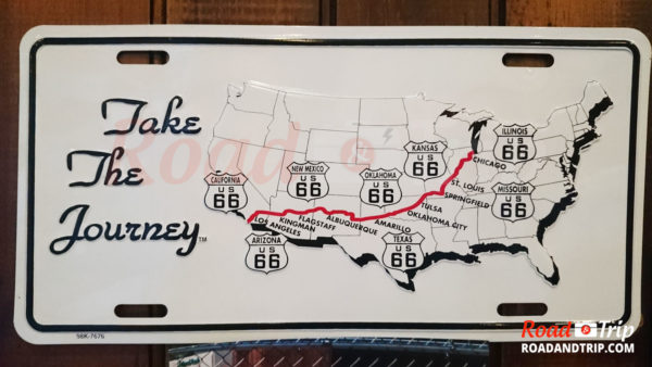 Parcours de la Route 66