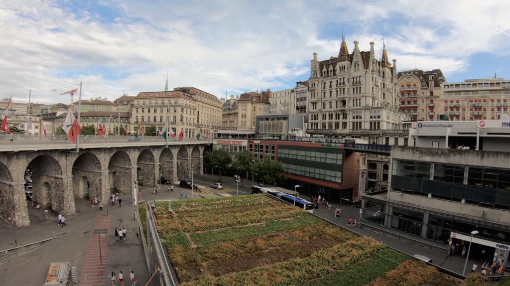 Passerelle du Flon à Lausanne