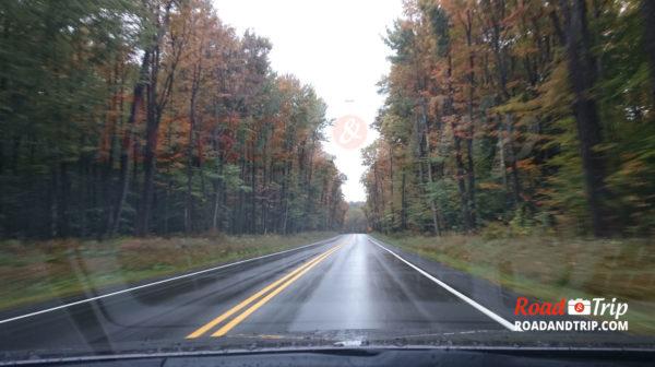 Paysage d'automne en Pennsylvanie