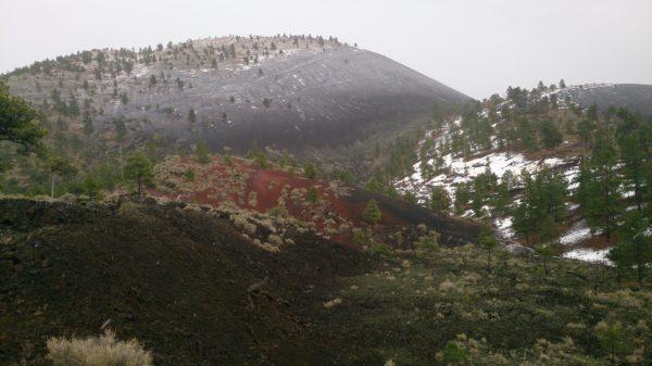Paysage de Lava Flow Trail