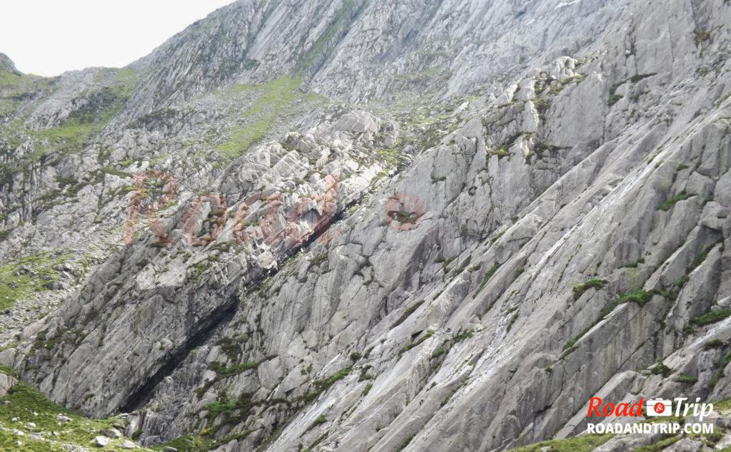 Paysage rocheux à Snowdonia