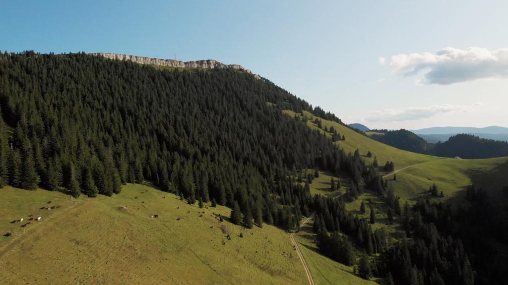 Paysages environnants proche du Massif du Chasseron
