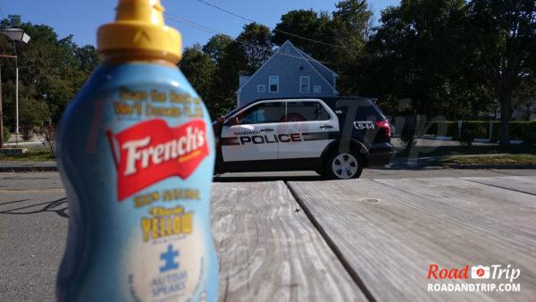 Petite blague avec la police de Sandwich