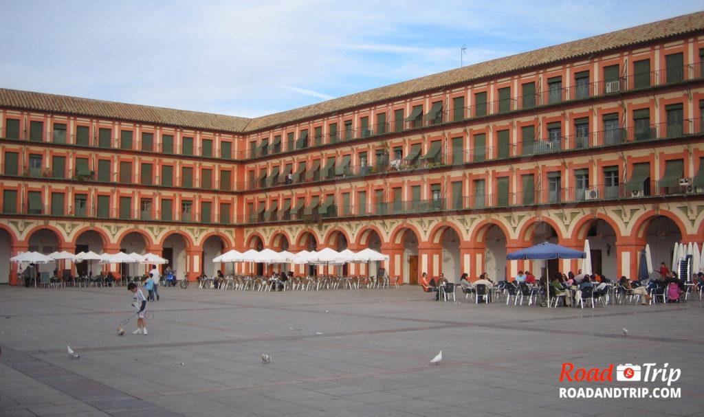 Place de la Corredera à Cordoue