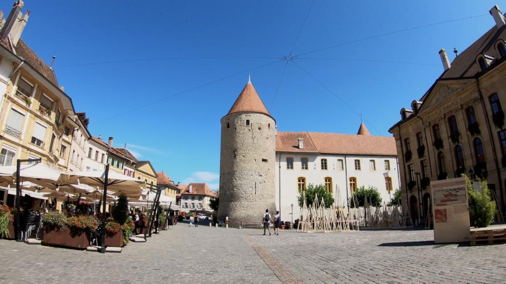 Place historique de Yverdon Les Bains