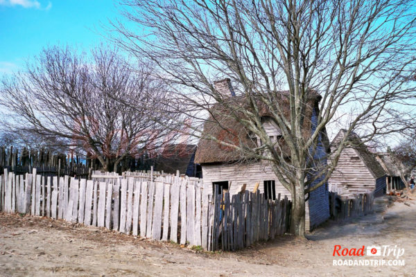 Plimoth Plantation village anglais