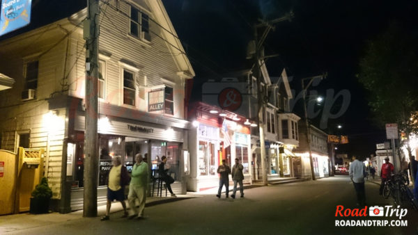 Provincetown by night