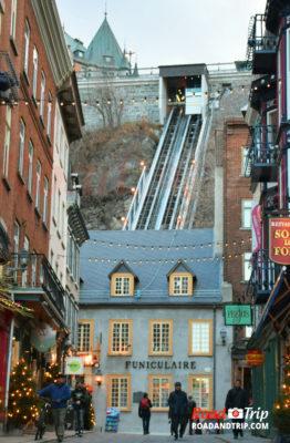 Quartier populaire à Quebec