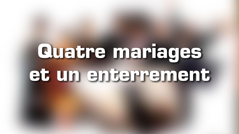 Lieux de tournage – Quatre mariages et un enterrement