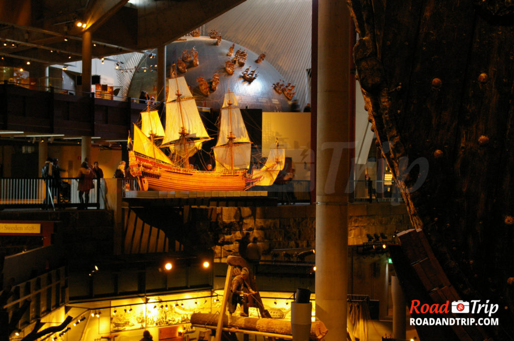 Reproduction exacte du navire Vasa