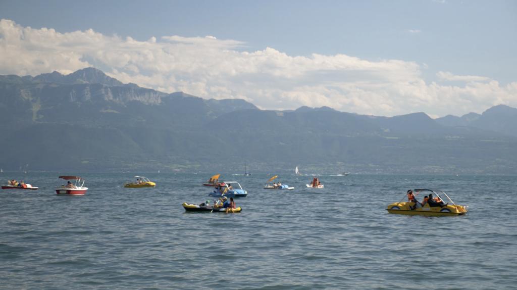 Rives du Lac Léman à Ouchy - Lausanne