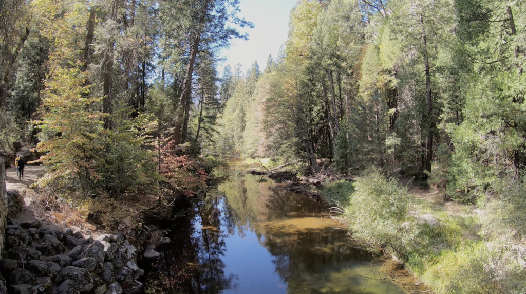 Rivière à Yosemite