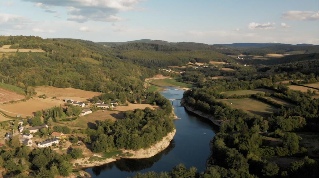 Rivière dans le Morvan