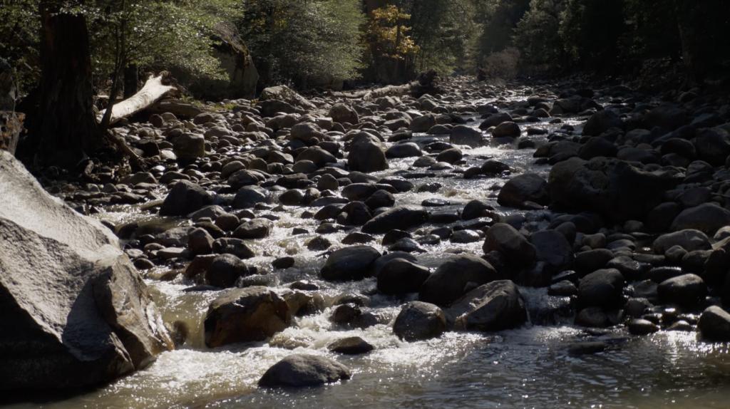 Rivière principale à Yosemite