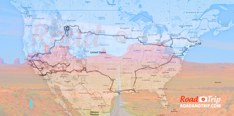 Road-trip : tour des Etats-Unis en 80 jours