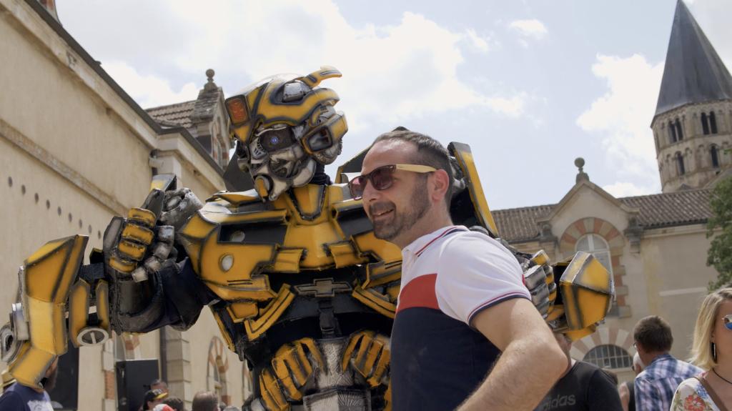Robot Transformers à Cluny