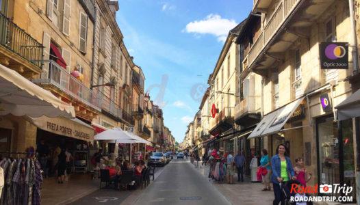 Rue centrale à Sarlat