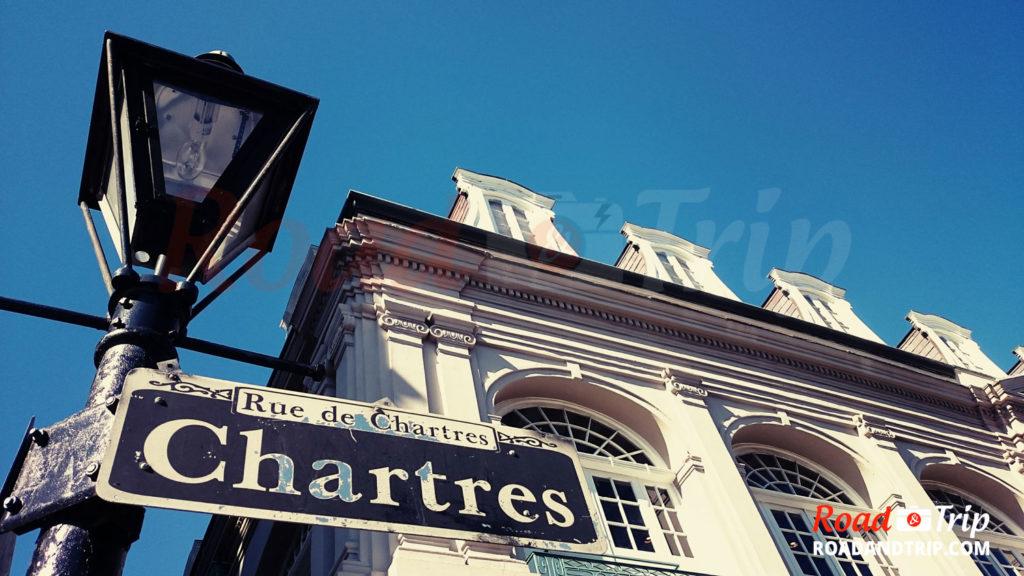 Rue de Chartres à  la Nouvelle-Orléans