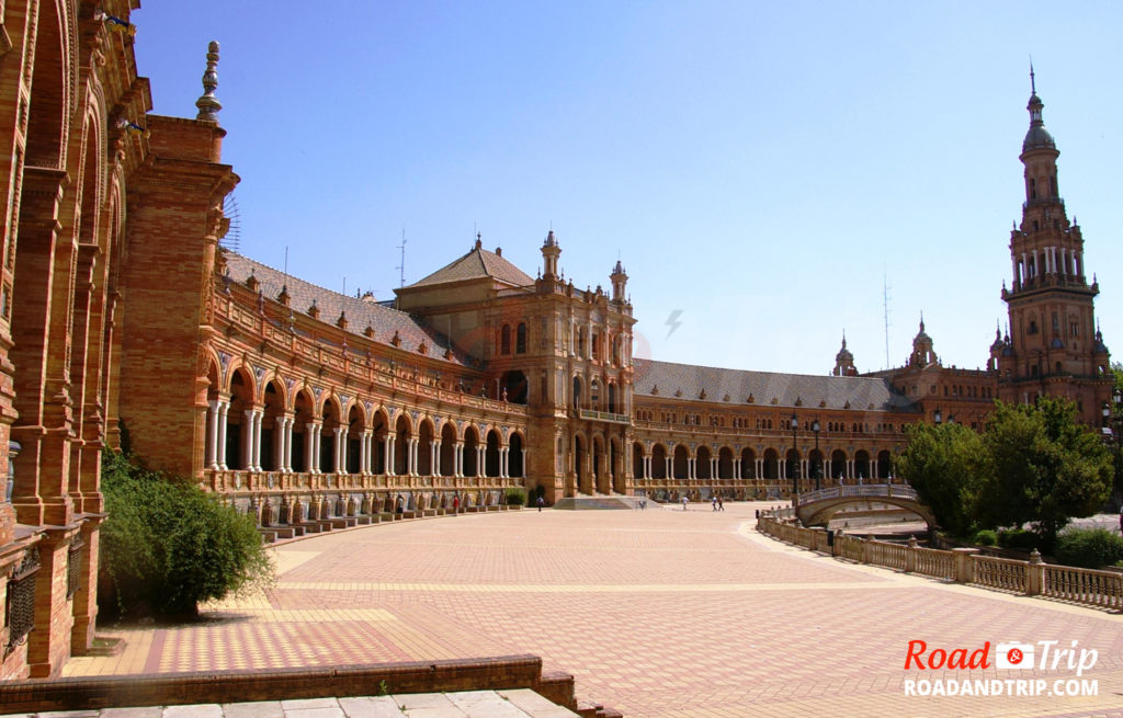 Séville, et sa plaza de España