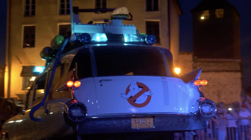 SOS Fantomes à Cluny à la Rencontre Européenne des Voitures Stars de Cinéma REVSC