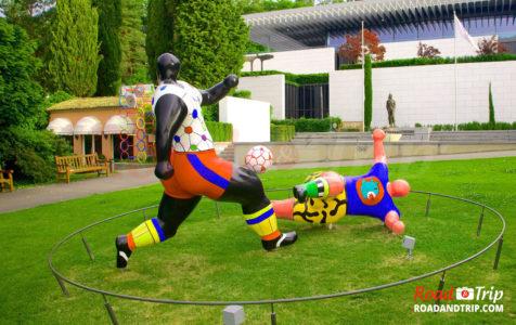 Sculpture du Musée Olympique