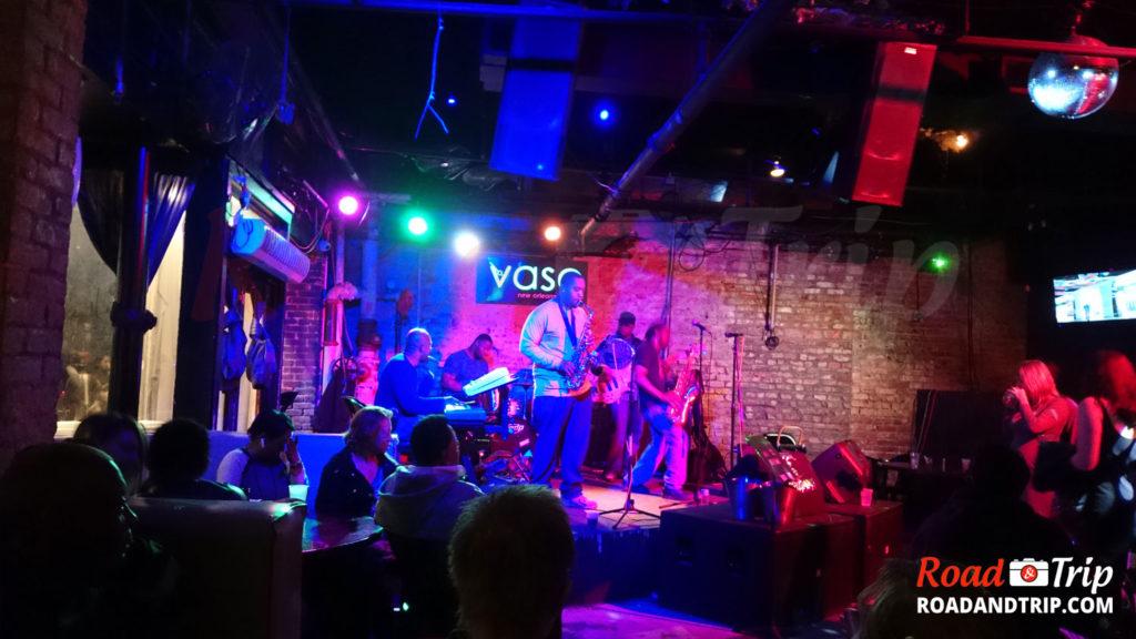 Soirée jazz à la Nouvelle-Orléans