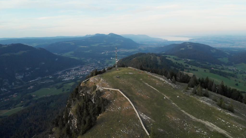 Sommet de la Dent de Vaulion, Suisse