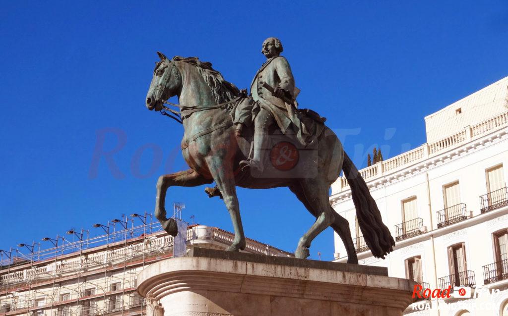 Statue de Carlos III