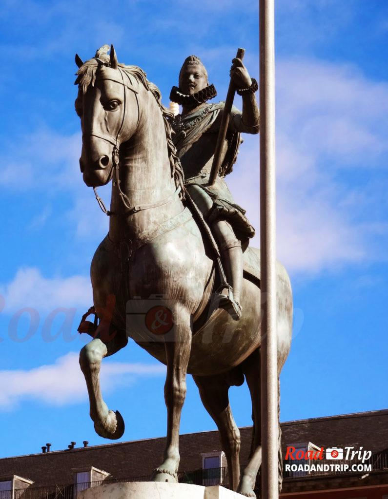 Statue de Felipe III
