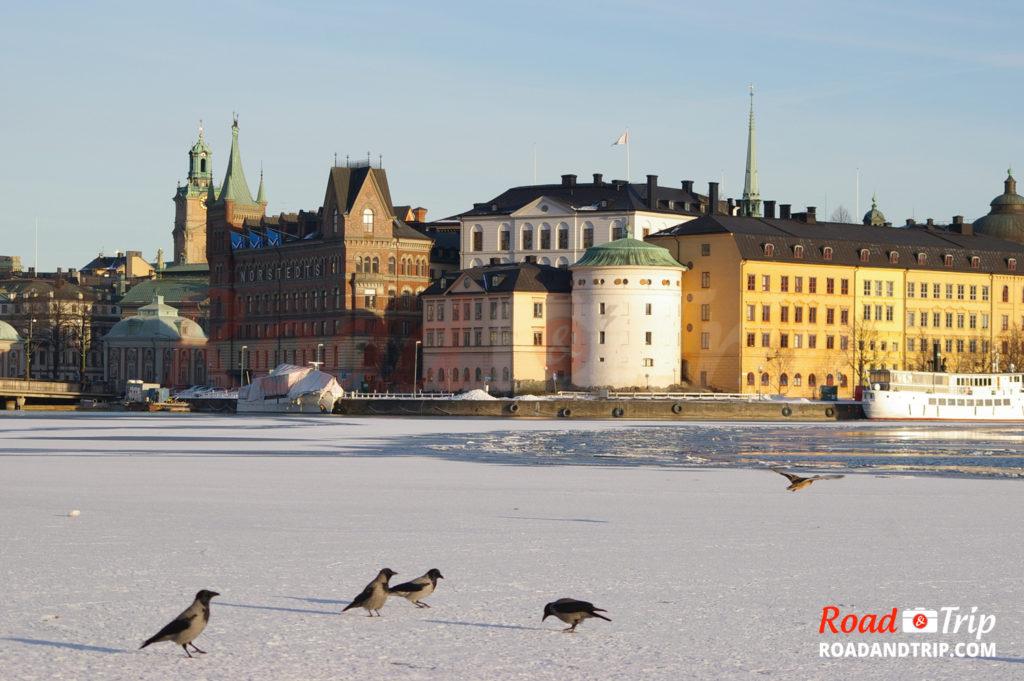 Stockholm et son quartier historique Gamla Stan