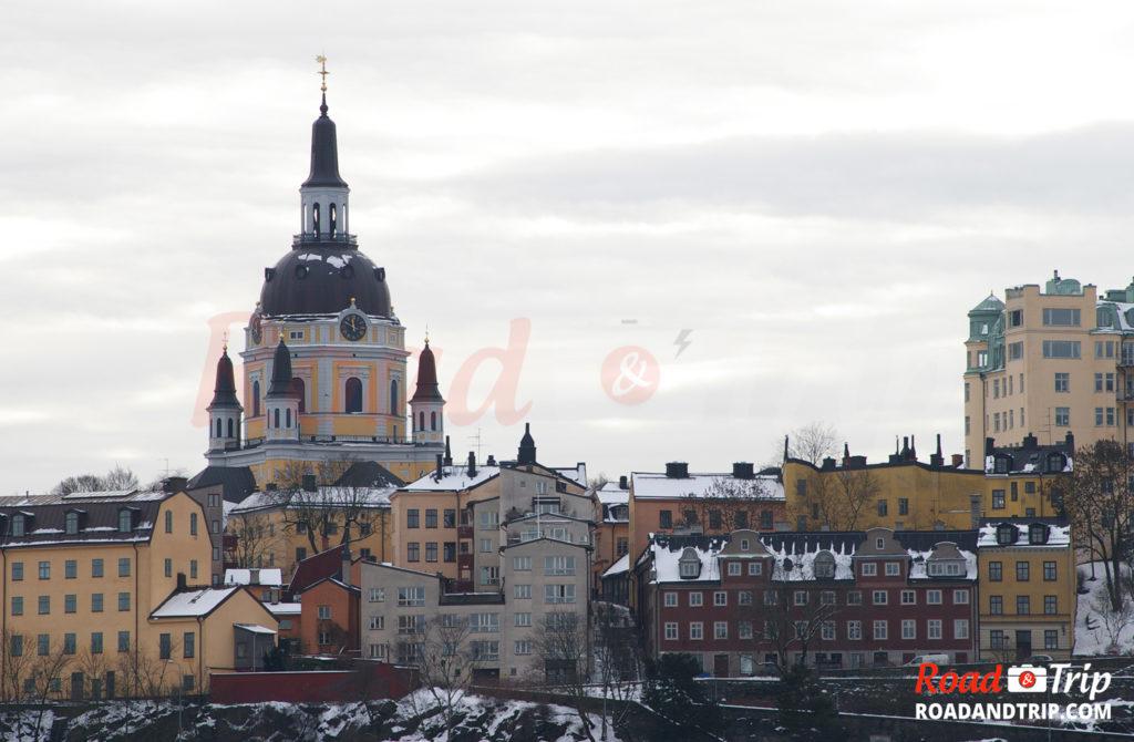 Stockholm ville en couleurs