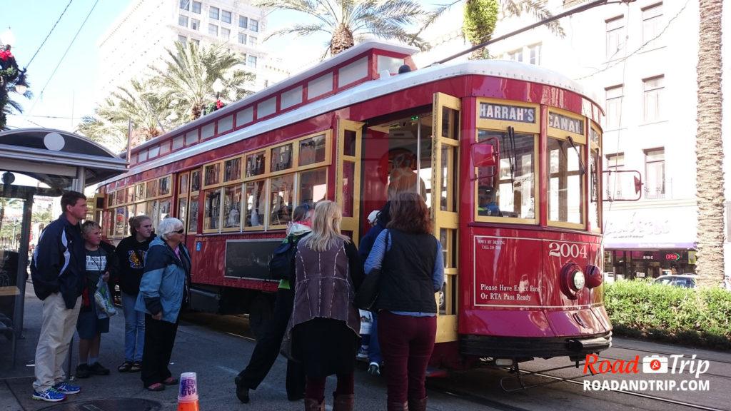 Streetcar à la Nouvelle-Orléans