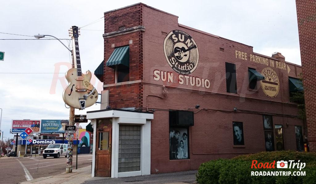 Sun Studio à Memphis