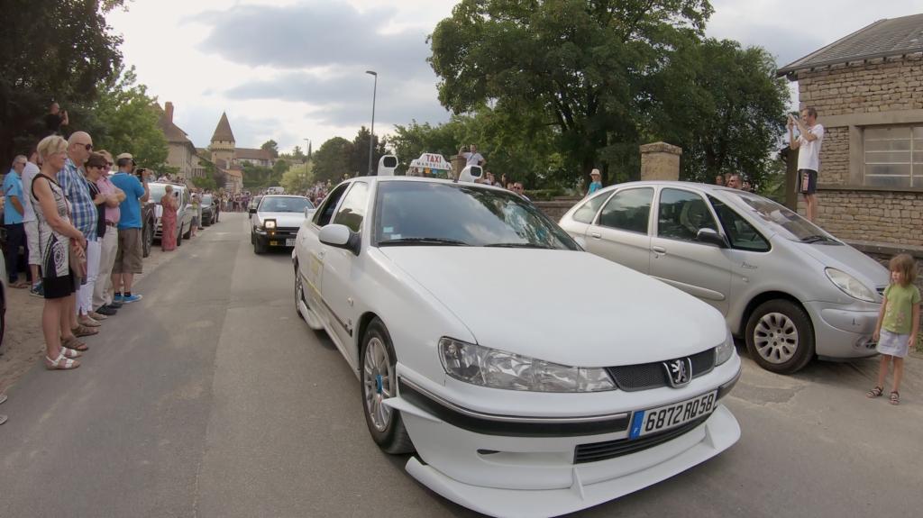 Taxi Marseille à la Rencontre Européenne des Voitures Stars de Cinéma REVSC