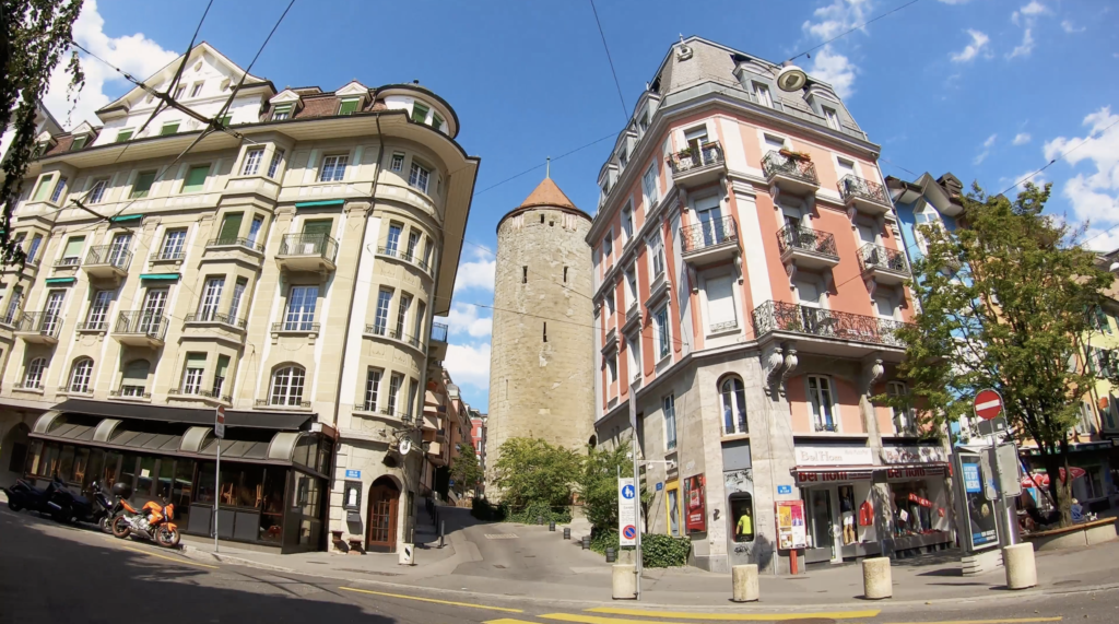 Tour de l'Ale à Lausanne