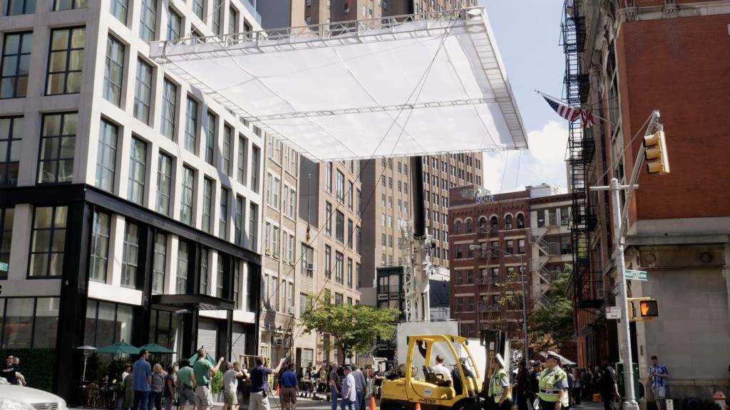 Tournage cinéma en plein Manhattan
