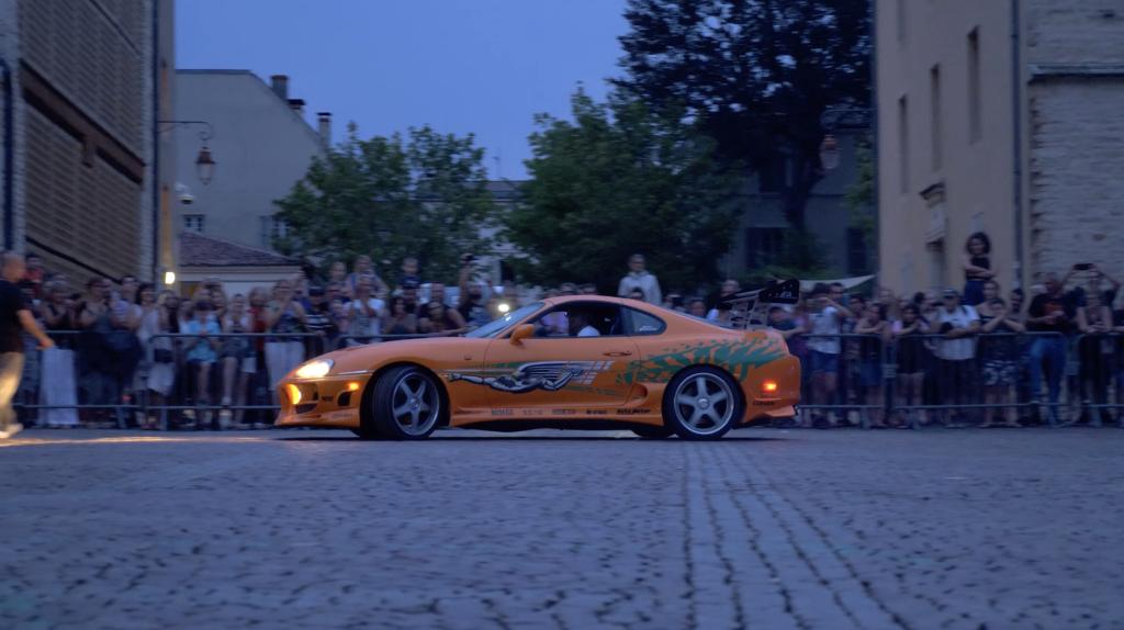 Toyota Supra de Fast and Furious à Cluny