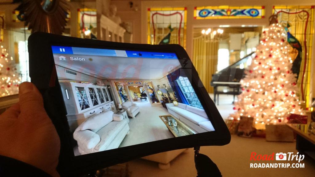 Visite guidée avec un iPad