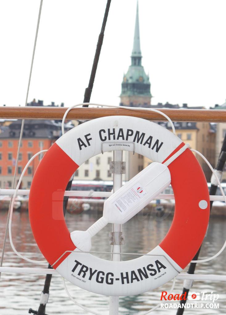 Vue depuis l'Af Chapman