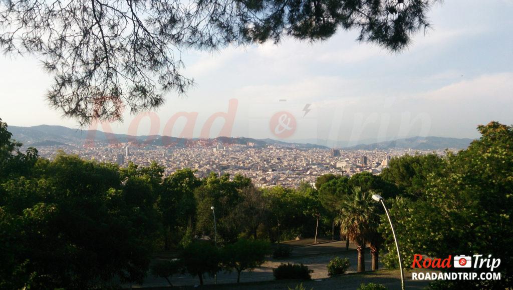 Vue générale de Barcelone