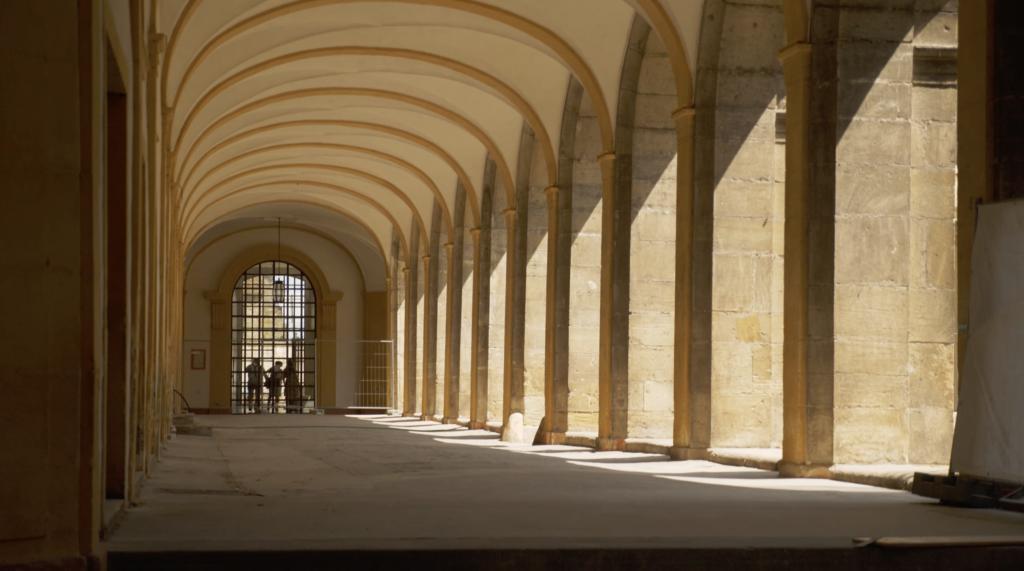 Vue intérieure de l'Abbaye de Cluny