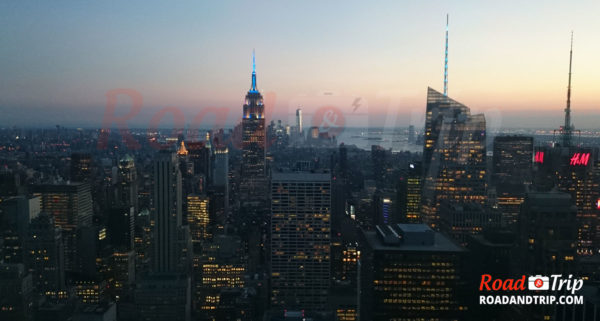 Vue sur Manhattan depuis le Top of The Rock