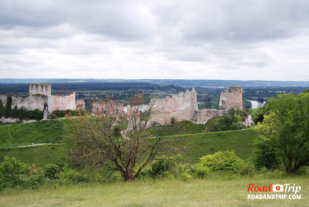 Vue sur le Château Gaillard