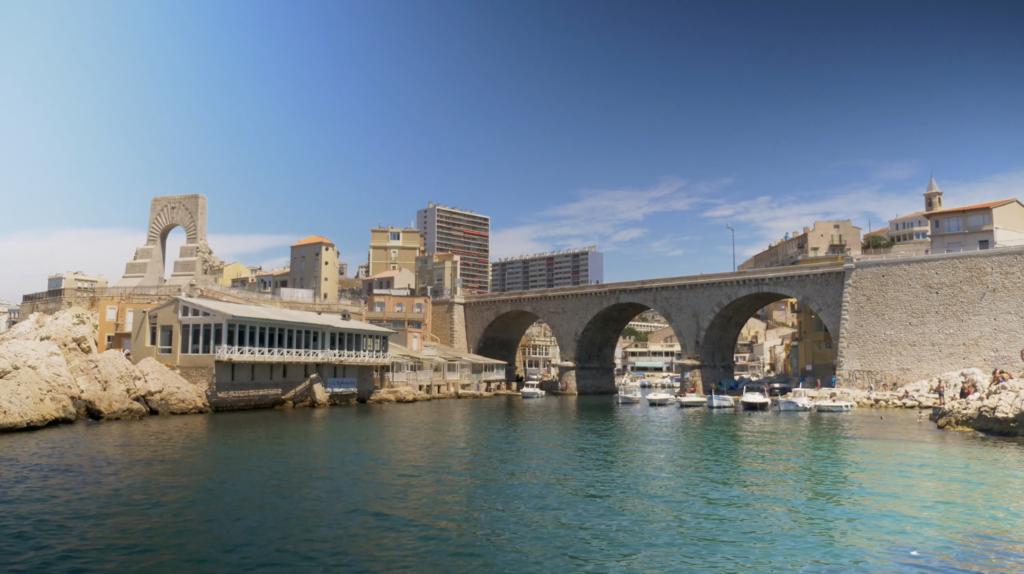 Vue sur le Vallon des Auffes Marseille