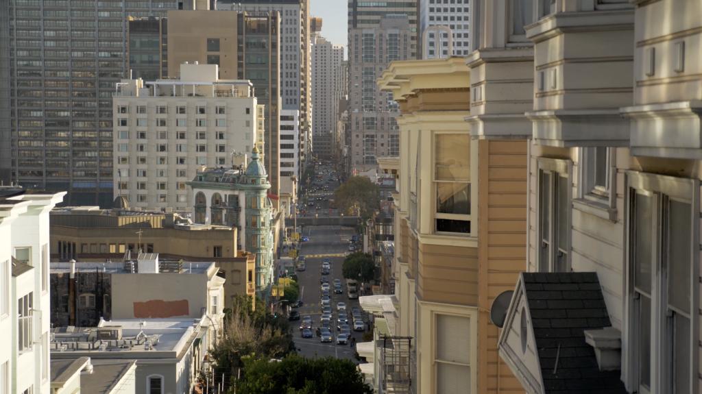 Vue typique sur San Francisco