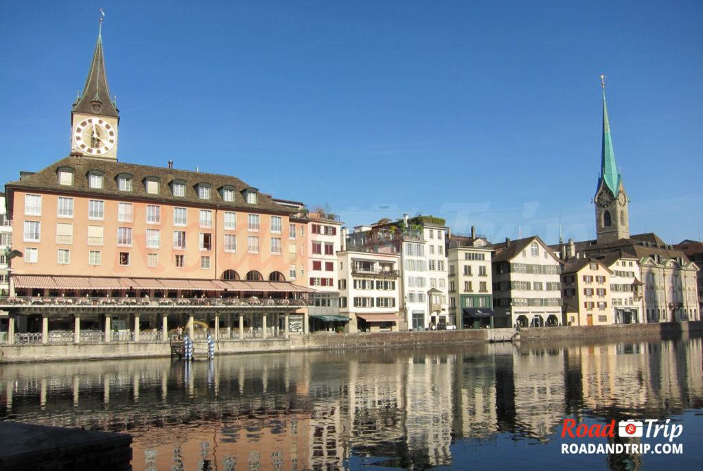 Zurich au fil de l'eau